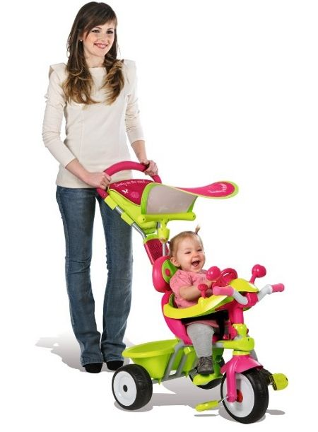 ballade en tricycle Smoby