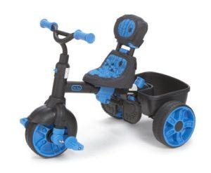 modèle bleu à pédale de la marque Little Tikes